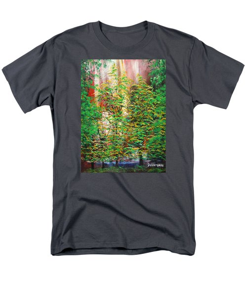 A Peaceful Place Men's T-Shirt  (Regular Fit) by Dan Whittemore