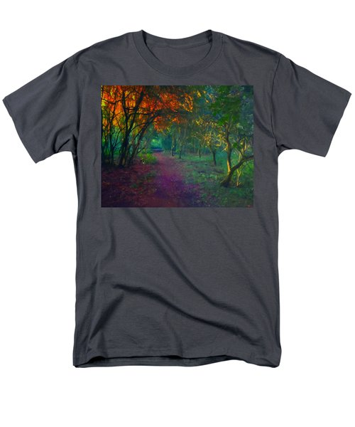 Men's T-Shirt  (Regular Fit) featuring the painting A Place Of Mystery by Joe Misrasi