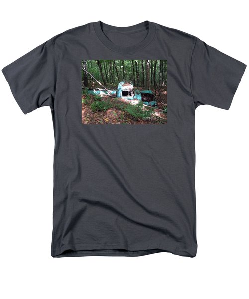 Abandoned Catskill Truck Men's T-Shirt  (Regular Fit) by Kathryn Barry