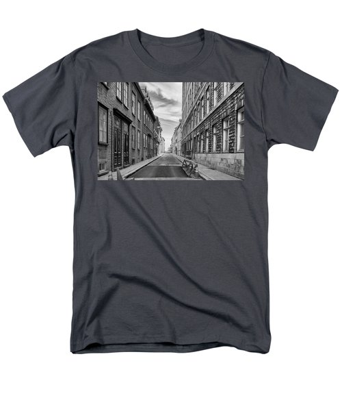 Abandoned Street Men's T-Shirt  (Regular Fit) by Eunice Gibb