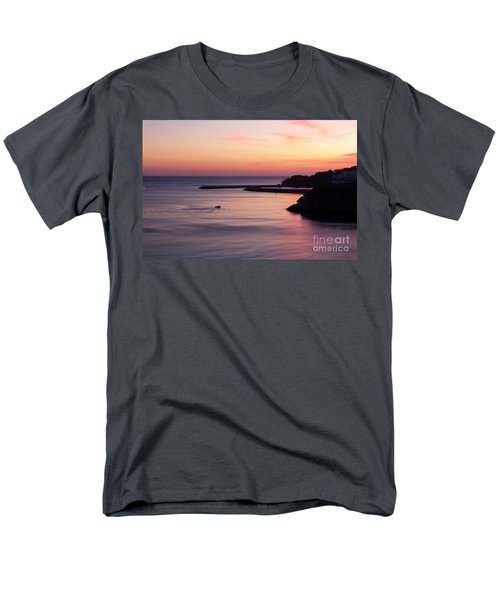 Men's T-Shirt  (Regular Fit) featuring the photograph Albuferian Sunset by Lynn Bolt