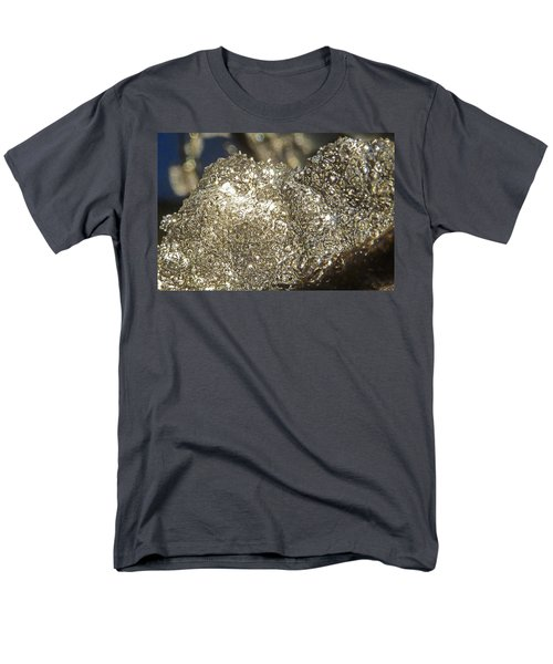 Men's T-Shirt  (Regular Fit) featuring the photograph All That Glitters Is Definitely Cold by Steve Taylor