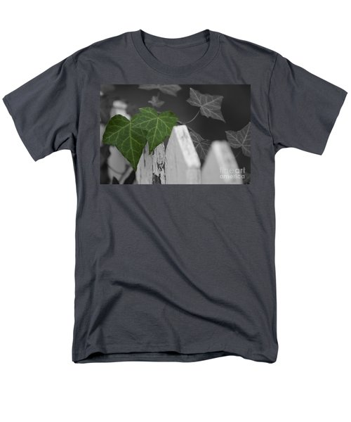Along The Fence Men's T-Shirt  (Regular Fit) by JT Lewis