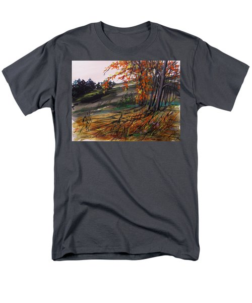 Men's T-Shirt  (Regular Fit) featuring the painting Autumn Intensity by John Williams