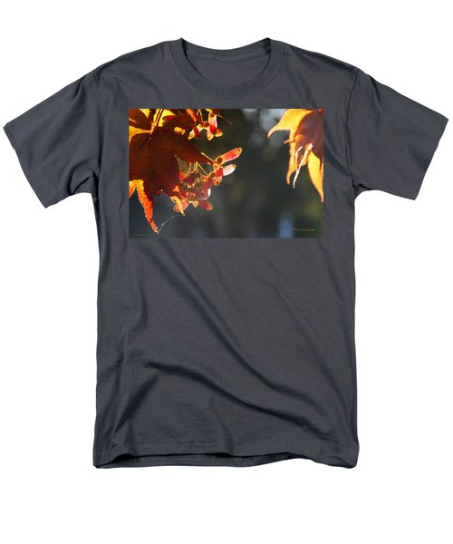 Men's T-Shirt  (Regular Fit) featuring the photograph Autumn Maple by Mick Anderson
