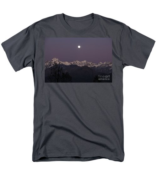 Men's T-Shirt  (Regular Fit) featuring the photograph Bathed In Moonlight by Fotosas Photography