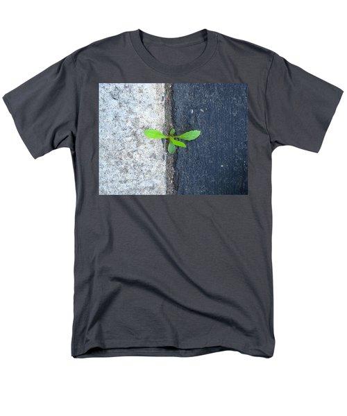 Grows Here Men's T-Shirt  (Regular Fit) by John King