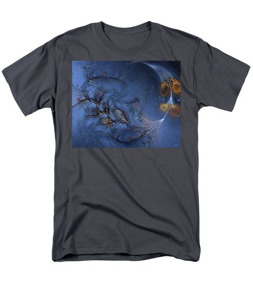 Men's T-Shirt  (Regular Fit) featuring the digital art Birth Of The Cool by Casey Kotas