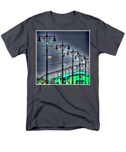 Men's T-Shirt  (Regular Fit) featuring the photograph Boardwalk Lights by Chris Lord
