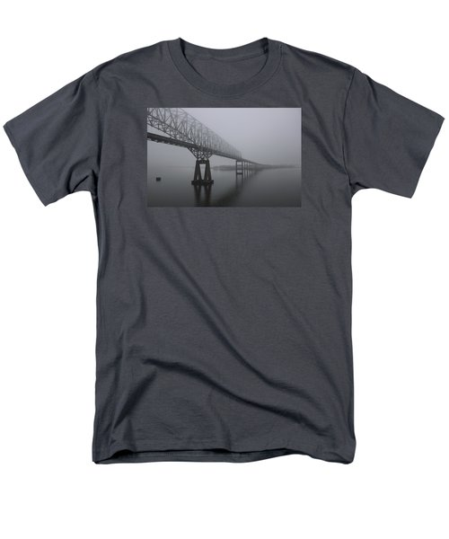 Bridge To Nowhere Men's T-Shirt  (Regular Fit) by Shelley Neff