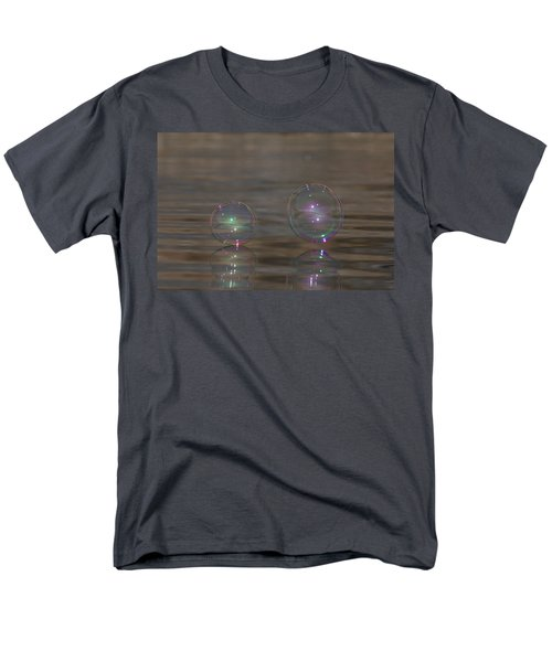 Bubble Iridescence Men's T-Shirt  (Regular Fit) by Cathie Douglas