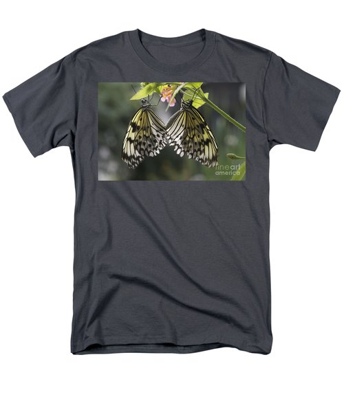 Butterfly Duo Men's T-Shirt  (Regular Fit) by Eunice Gibb