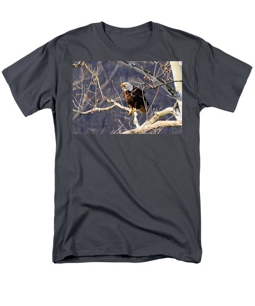 Men's T-Shirt  (Regular Fit) featuring the photograph Calling For His Mate by Randall Branham