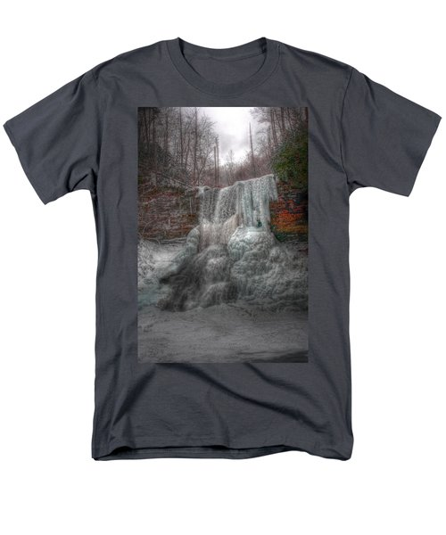 Cascades In Winter 3 Men's T-Shirt  (Regular Fit) by Dan Stone