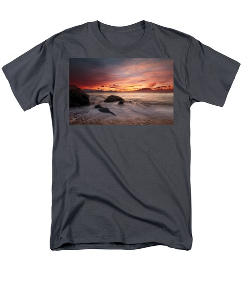 Men's T-Shirt  (Regular Fit) featuring the photograph Celtic Sunset by Beverly Cash