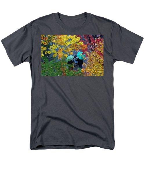 Men's T-Shirt  (Regular Fit) featuring the photograph Children Our Joy by Johanna Bruwer