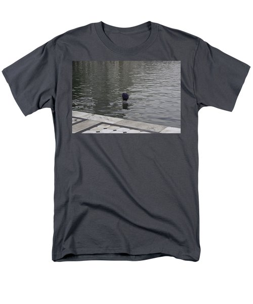 Men's T-Shirt  (Regular Fit) featuring the photograph Cleaning The Sarovar In The Golden Temple by Ashish Agarwal