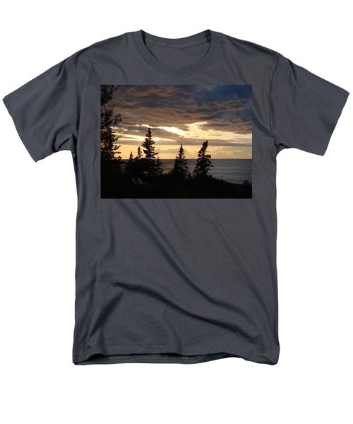 Men's T-Shirt  (Regular Fit) featuring the photograph Clearing Sky by Bonfire Photography