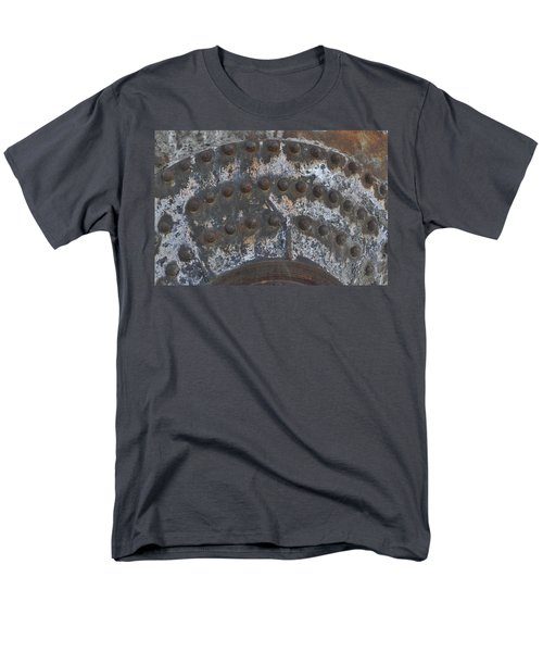 Men's T-Shirt  (Regular Fit) featuring the photograph Color Of Steel 7a by Fran Riley