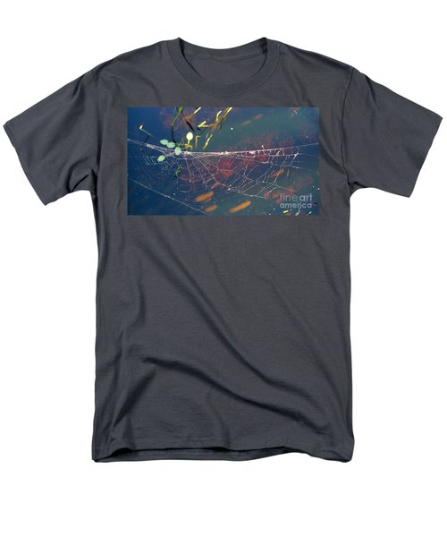 Men's T-Shirt  (Regular Fit) featuring the photograph Complexity Of The Web by Nina Prommer