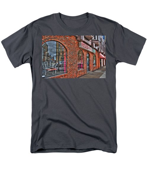 Men's T-Shirt  (Regular Fit) featuring the photograph Dough Bois Pizza by Michael Frank Jr