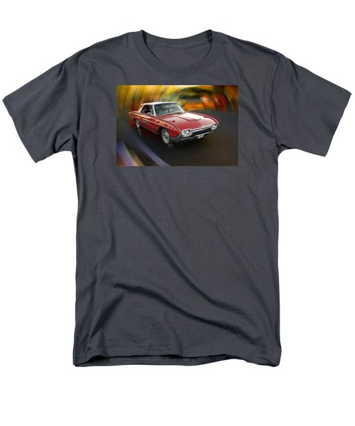 Early 60s Red Thunderbird Men's T-Shirt  (Regular Fit) by Mick Anderson