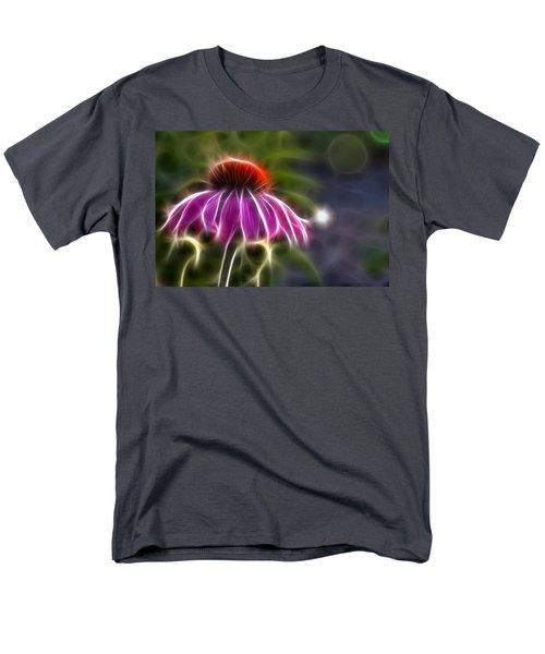 Electrified Coneflower Men's T-Shirt  (Regular Fit) by Lynne Jenkins