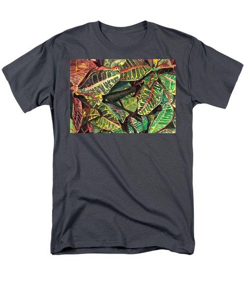 Elena's Crotons Men's T-Shirt  (Regular Fit) by Marionette Taboniar