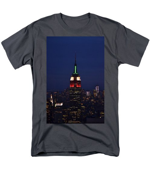 Empire State Building1 Men's T-Shirt  (Regular Fit) by Zawhaus Photography