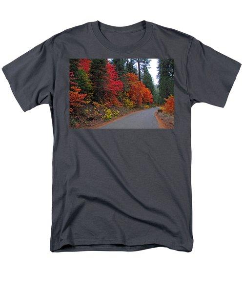 Men's T-Shirt  (Regular Fit) featuring the photograph Fall's Splendor by Lynn Bauer