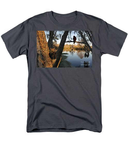 Men's T-Shirt  (Regular Fit) featuring the photograph Feel Like Being Watched by Dan Friend