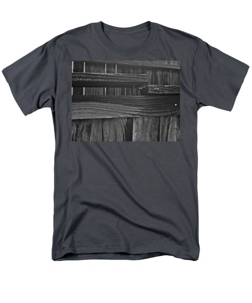Men's T-Shirt  (Regular Fit) featuring the photograph Fence To Nowhere by Bill Owen