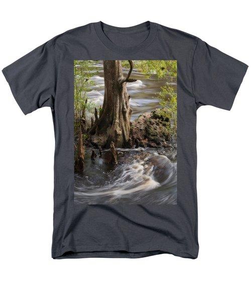 Men's T-Shirt  (Regular Fit) featuring the photograph Florida Rapids by Steven Sparks