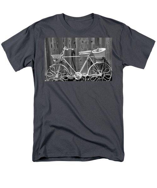 Flower Bike Men's T-Shirt  (Regular Fit) by Lisa Brandel