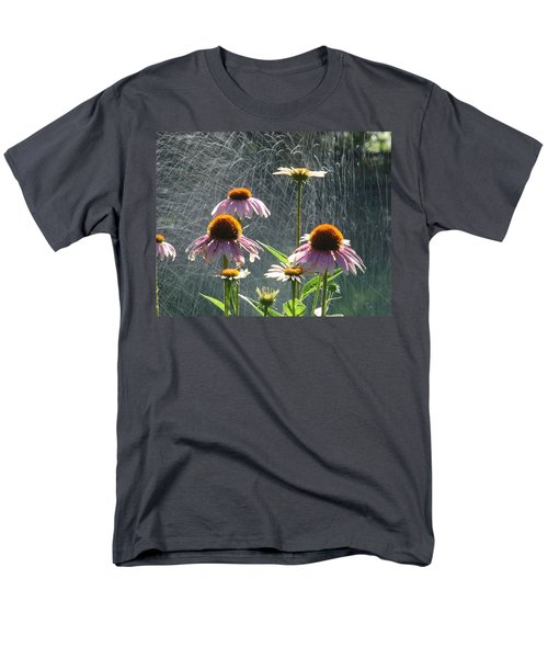 Flowers In The Rain Men's T-Shirt  (Regular Fit) by Randy J Heath