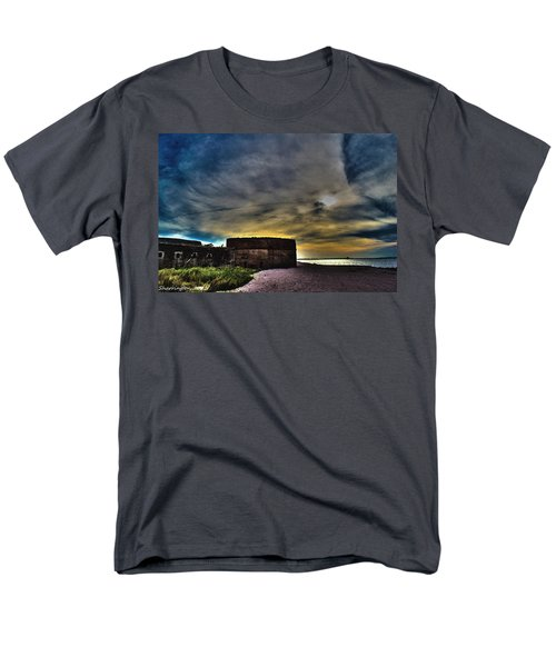 Fort Clinch Men's T-Shirt  (Regular Fit) by Shannon Harrington
