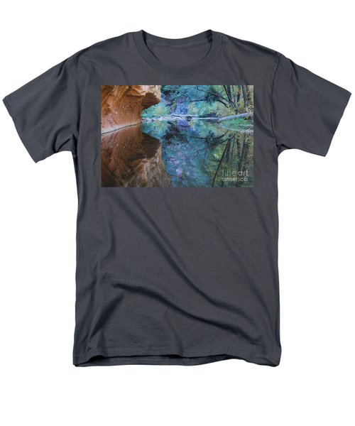 Fully Reflected Men's T-Shirt  (Regular Fit) by Heather Kirk