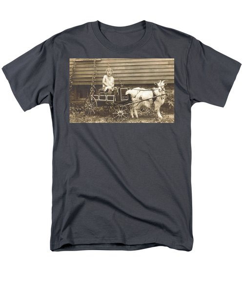 Men's T-Shirt  (Regular Fit) featuring the photograph Goat Wagon by Bonfire Photography