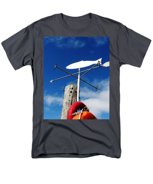 Men's T-Shirt  (Regular Fit) featuring the photograph Gone Fishing by Charlie and Norma Brock