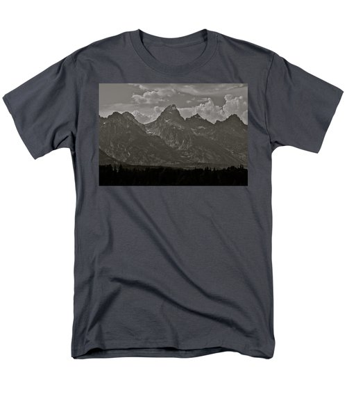 Men's T-Shirt  (Regular Fit) featuring the photograph Grand Tetons by Eric Tressler