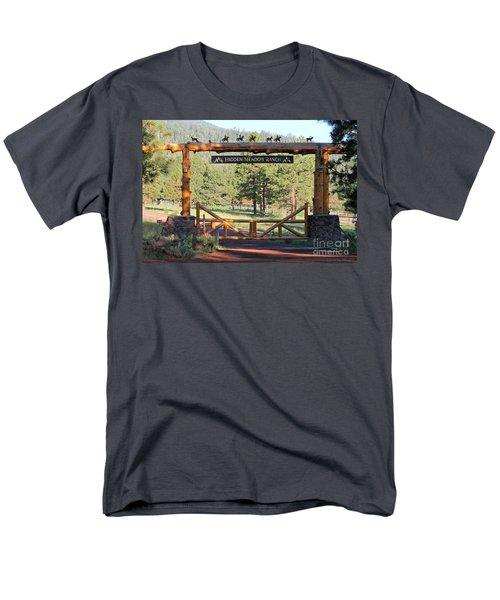 Hidden Meadow Ranch Men's T-Shirt  (Regular Fit)