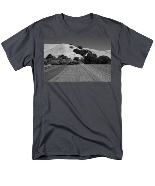 Men's T-Shirt  (Regular Fit) featuring the photograph Hillside Farmland by Kathleen Grace