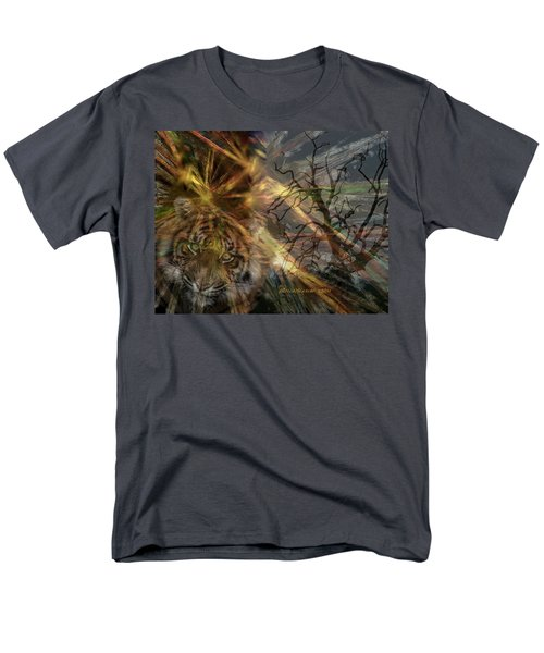 Men's T-Shirt  (Regular Fit) featuring the photograph Hunter by EricaMaxine  Price