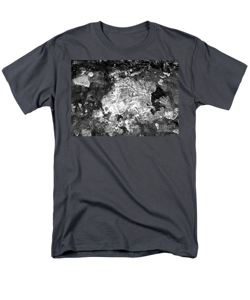 Men's T-Shirt  (Regular Fit) featuring the photograph Icy Road by Chalet Roome-Rigdon