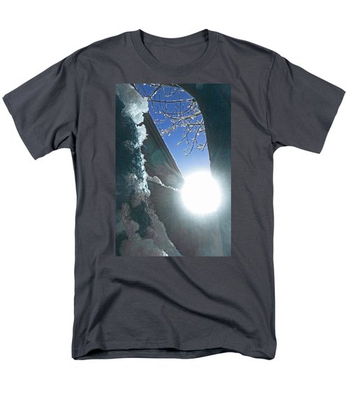 Men's T-Shirt  (Regular Fit) featuring the photograph In The Cold Of The Sun by Steve Taylor