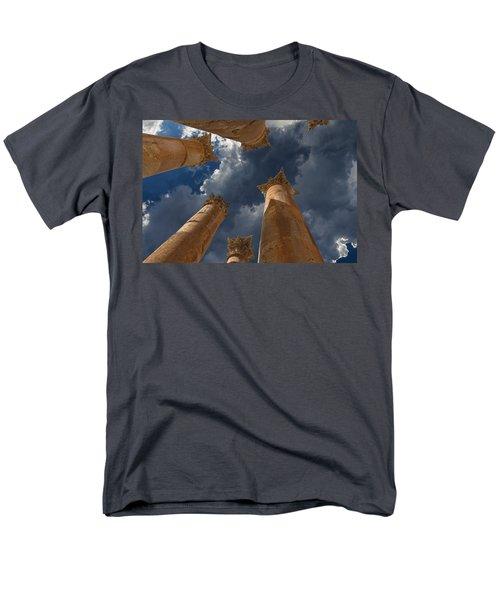 Men's T-Shirt  (Regular Fit) featuring the photograph Jerash by David Gleeson