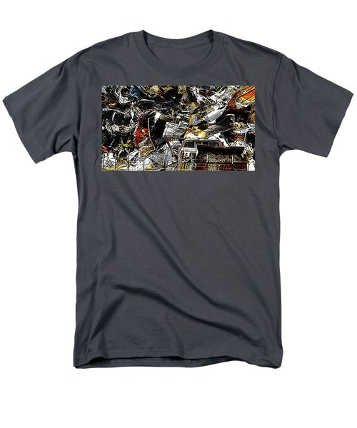 Men's T-Shirt  (Regular Fit) featuring the photograph Junky Treasure 2 by Lydia Holly