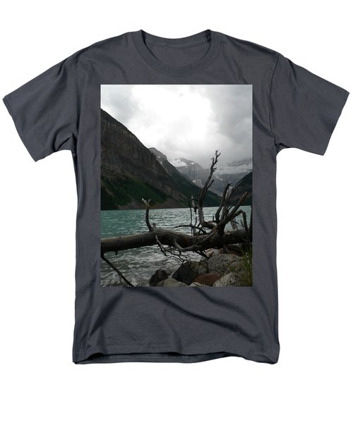 Men's T-Shirt  (Regular Fit) featuring the photograph Lake Louise by Laurel Best