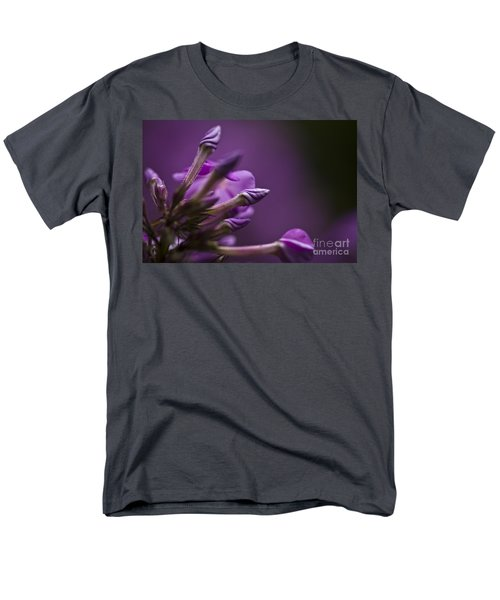 Men's T-Shirt  (Regular Fit) featuring the photograph Lilac Spirals. by Clare Bambers