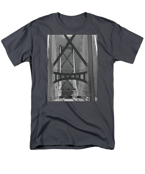 Men's T-Shirt  (Regular Fit) featuring the photograph Lions Gate Bridge by John Schneider
